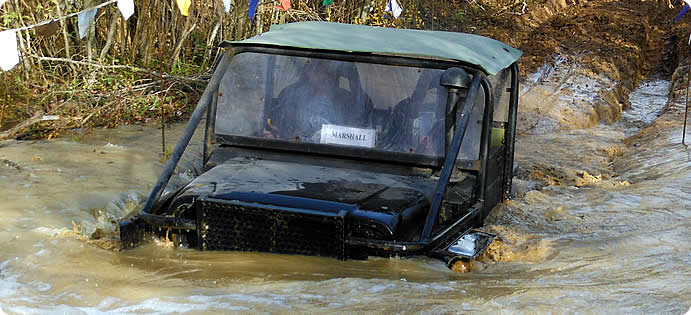 Learn to drive 4x4 off road with John Morgan in Sussex